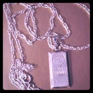 Other - SALE!!Vintage Sterling Silver Necklace